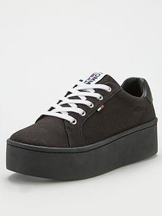 tommy-jeans-flatform-trainer-black