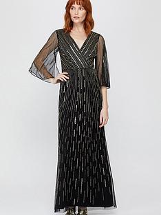 monsoon-lizzie-linear-embellished-maxi-dress-black