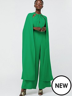 monsoon-kimora-cape-wide-leg-jumpsuit-green