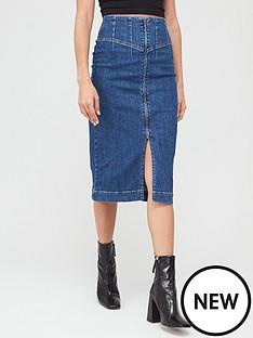 v-by-very-corset-fit-denim-midi-skirt-mid-wash