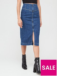 v-by-very-corset-fit-denim-midi-skirt-mid-wash