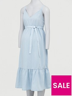 mama-licious-maternity-denim-midi-dress-light-bluenbsp