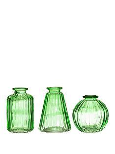 sass-belle-green-glass-bud-vases