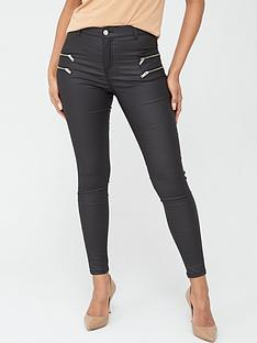 v-by-very-ella-high-waisted-coated-zip-skinny-jeans-black