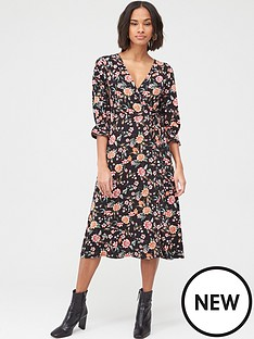 v-by-very-wrap-over-long-sleeve-midi-dress-floral-print