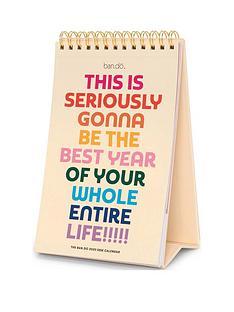 bando-bando-best-year-ever-2020-desk-calendar