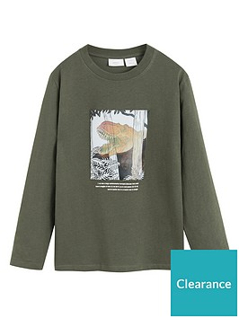 mango-boys-long-sleeve-dinosaur-t-shirt-khaki