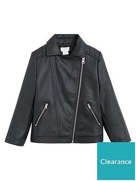 mango-girls-faux-leather-biker-jacket-black