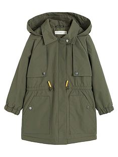 mango-girls-waterproof-hooded-parka-coat-khaki