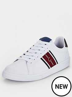 fred-perry-b721-leather-webbing-trainers