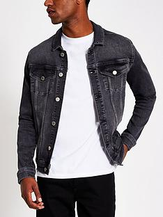 river-island-classic-fit-denim-jacket-washed-blacknbsp
