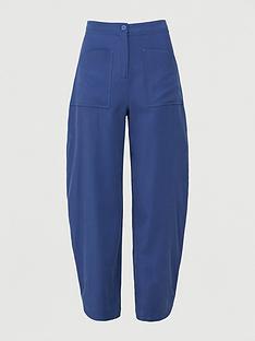 armani-exchange-loose-fit-trouser-blue