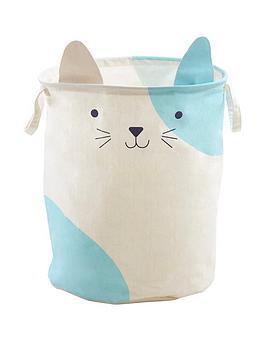 premier-housewares-mimo-cat-face-storage-bag