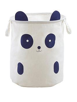 premier-housewares-mimo-panda-face-storage-bag
