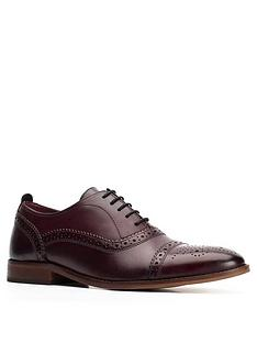 base-london-cast-lace-up-brogue-dark-red