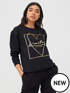 boohoo-boohoo-foil-print-love-heart-sweater-black