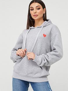 boohoo-boohoo-embroidered-oversize-hoodie-grey-marl