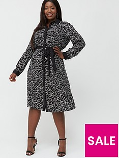 v-by-very-curve-heart-print-shirt-dress-black