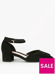 evans-extra-wide-fit-two-part-court-shoe-black