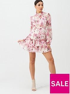 boohoo-boohoo-floral-ruffle-day-dress-pink