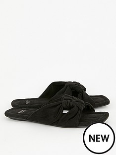 evans-extra-wide-fit-noko-square-toe-sandals-black