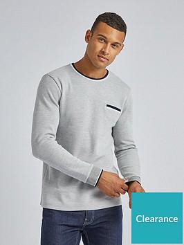 burton-menswear-london-contrast-collar-long-sleeve-t-shirt-grey