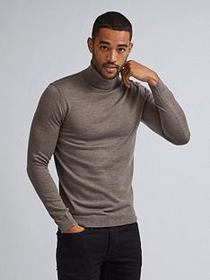 burton-menswear-london-burton-merino-roll-neck-jumper