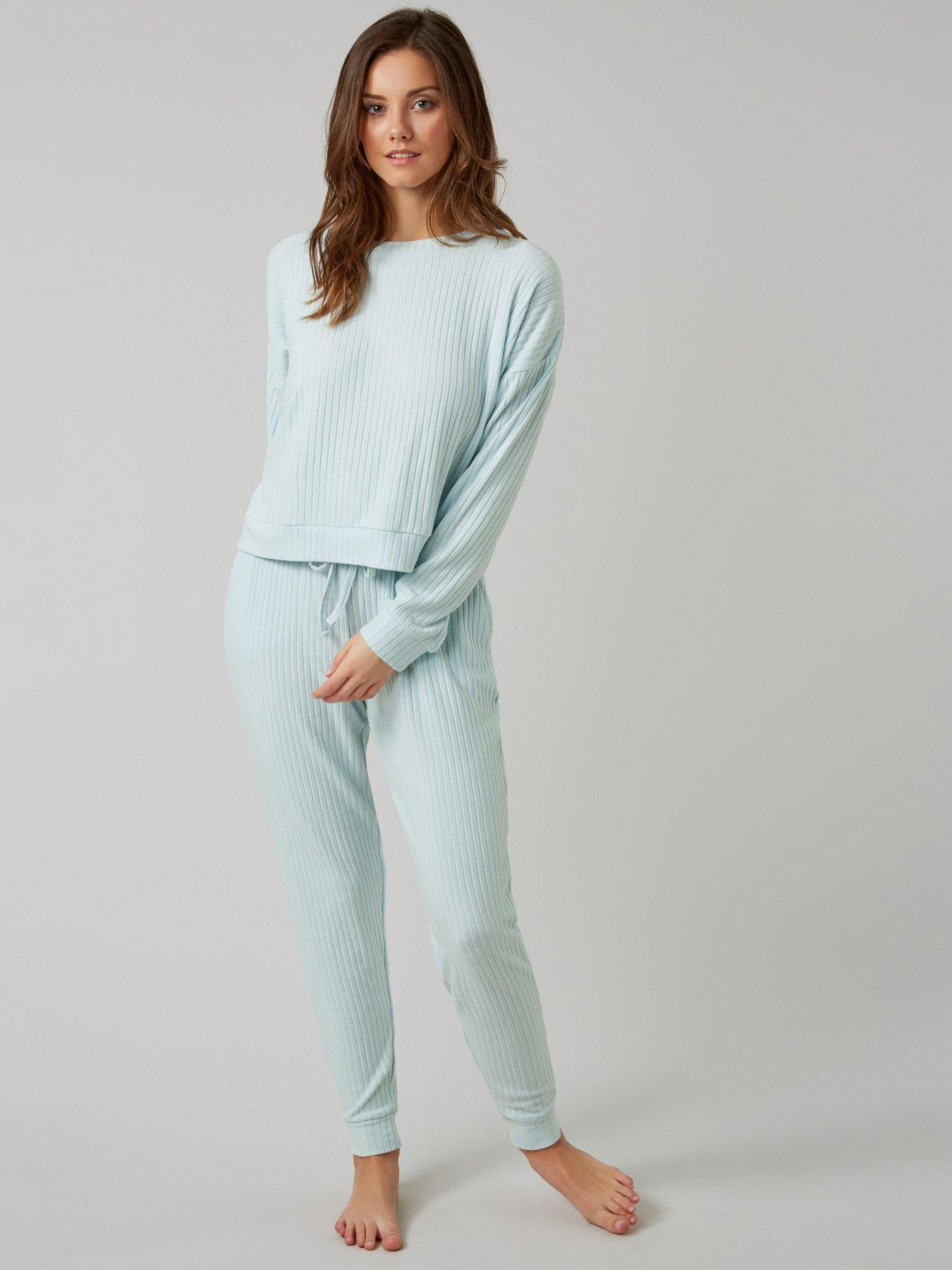 Ann Summers Pyjamas Rabbit PJs Set Nightwear Pajama Joggers Loungewear WAS £30