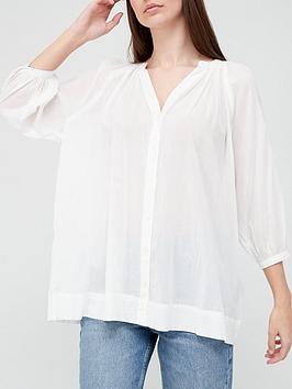 v-by-very-oversized-blouson-sleeve-shirt-white