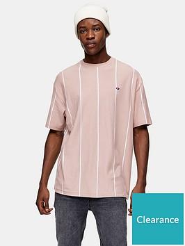 topman-striped-t-shirt-pink