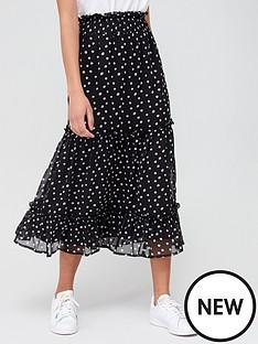 v-by-very-georgette-ruffle-hem-maxi-skirt-polka-dot