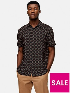 topman-short-sleeve-tile-print-shirt-black