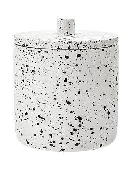premier-housewares-gozo-concrete-cotton-jar
