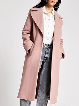 river-island-single-breasted-smart-coat-light-pink