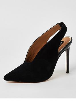 river-island-suede-slingback-court-shoesnbsp--black