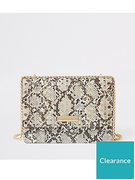 river-island-snake-print-cross-body-bag-cream