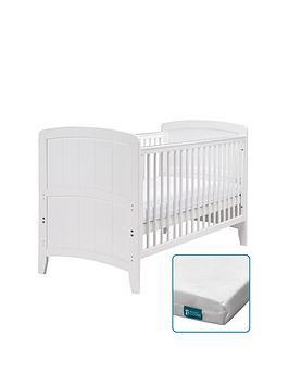 east-coast-venice-cot-bed-fibre-mattress