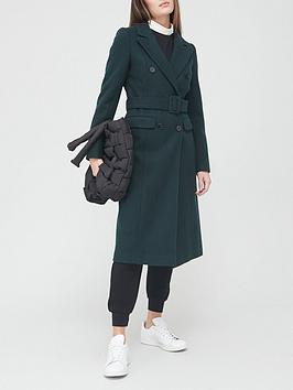 v-by-very-longline-belted-coat-green