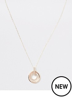 river-island-river-island-double-ring-necklace-rose-gold