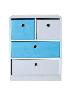 lloyd-pascal-cube-2nbsp-2-kidsnbspstorage-unit-bluewhite