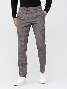 v-by-very-check-trouser-grey