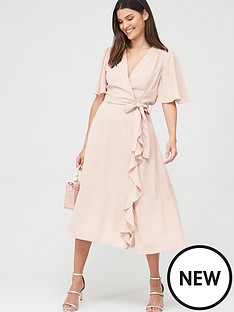 v-by-very-vienna-wrap-frill-midi-dress-blush