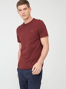 farah-dennis-t-shirt-red-marl
