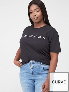 v-by-very-curve-friends-t-shirt-black