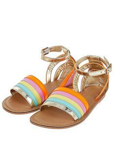 accessorize-girls-rainbow-sandals-multi
