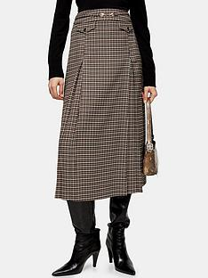 topshop-archive-check-midi-skirt-camel