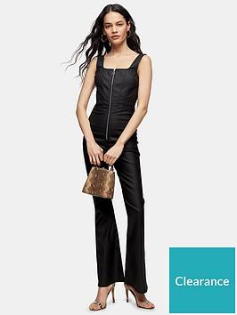 topshop-coated-joni-catsuit-black