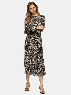 topshop-open-back-animal-midi-dress-multi