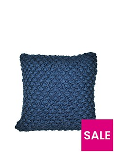 cascade-home-popcorn-knitted-cushion