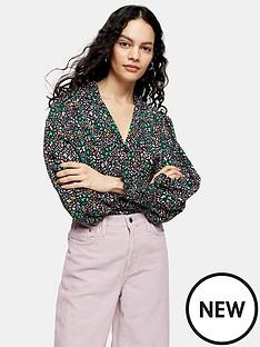 topshop-topshop-bright-animal-print-shirt-multi